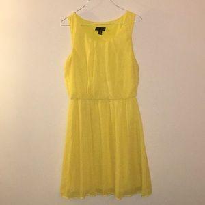 AB Studio Yellow Dress
